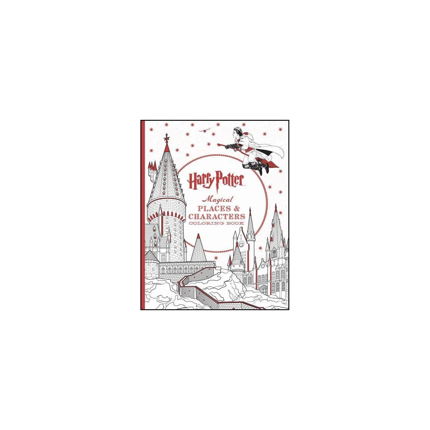 Harry Potter Magical Places & Characters Coloring Book These