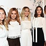 Dylan Penn, Ashley Tisdale, Lauren Conrad, Olivia Culpo, and Chrissy Teigen