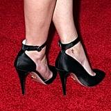Sasha Pieterse's Ankle Tattoo