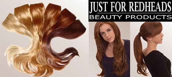 New Product Alert: Just For Redheads Hair Extensions