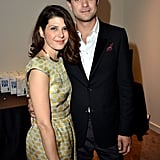 Marisa Tomei and Joshua Jackson linked up at the Toronto International Film Festival.