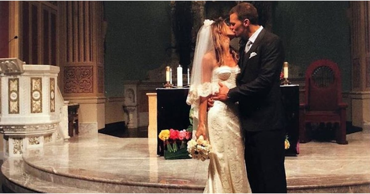 We've Been All Wrong About Gisele Bündchen's Wedding Dress For Years