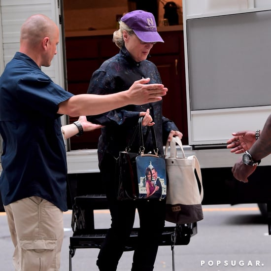 Meryl Streep's Michelle and Barack Obama Purse Photo