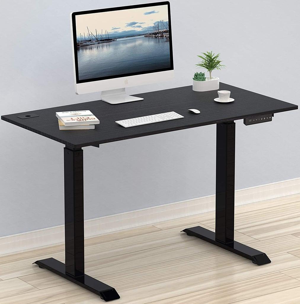 SHW Electric Height Adjustable Computer Desk | Best Standing Desks | POPSUGAR Home Photo 12