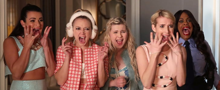 Drop-Dead Gorgeous Holiday Hair Ideas to Steal From Scream Queens