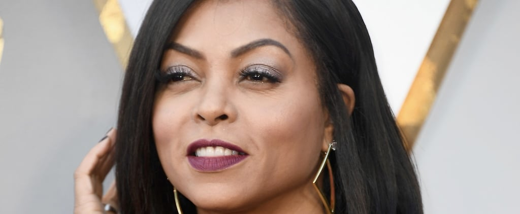 Taraji P. Henson Personified the Fire Emoji With Her Red-Hot Oscars Beauty Look