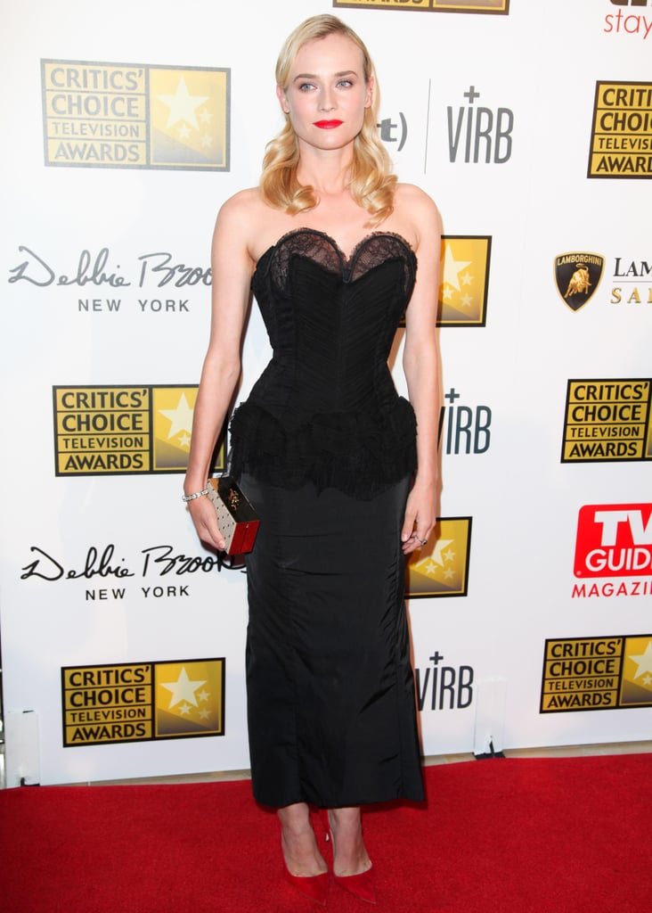 Diane Kruger at the 2013 Critics' Choice Television Awards in Los Angeles.  Source: Aleks Kocev/BFAnyc.com