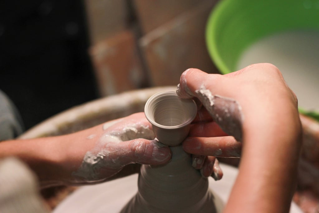 Try your hand at sculpting or pottery.