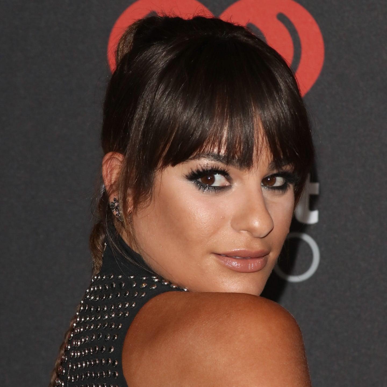 Lea Michele And Celebrity Hair Popsugar Celebrity