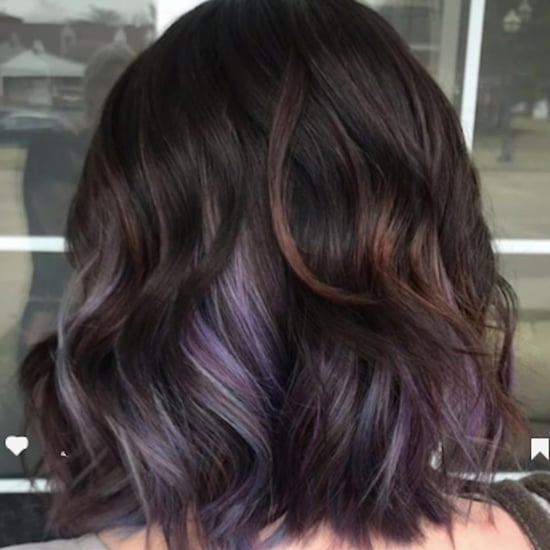 Chocolate Lilac Hair