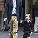 Prince George's First Day