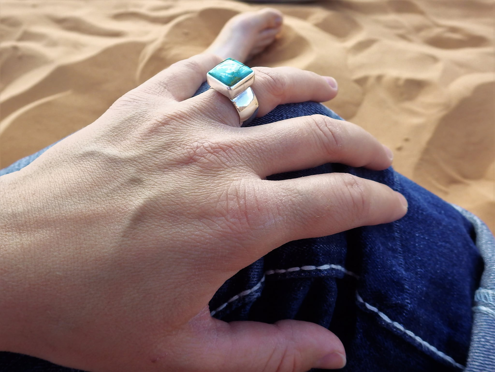 Why I Wear A Turquoise Wedding Ring Instead Of My Diamond