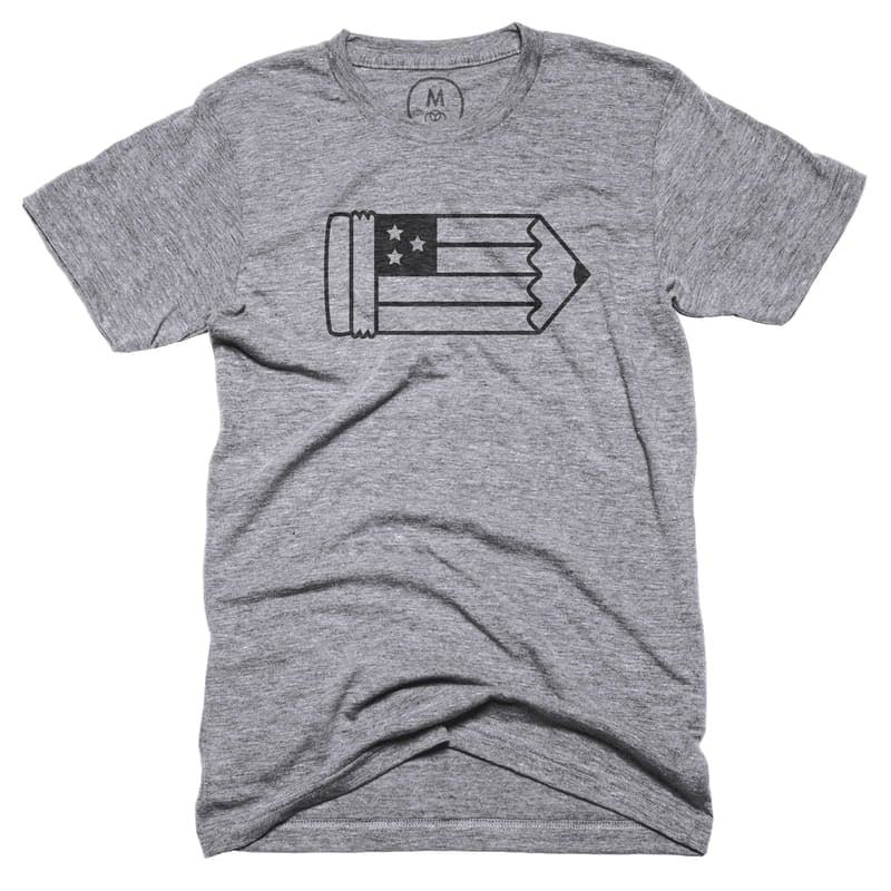 "Hand of the Free T-Shirt ($28) ""This design reminds wearers of the freedom of creativity and all things artistic."""