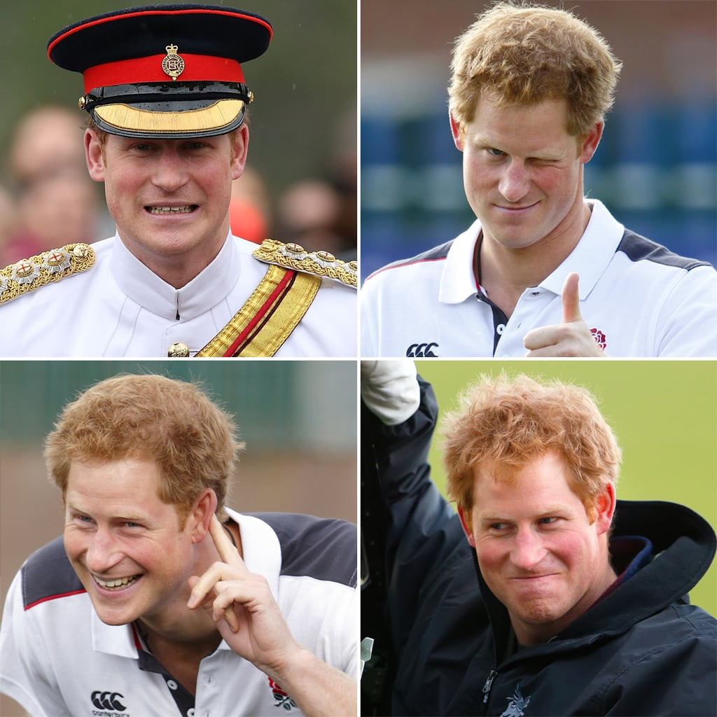 Prince Harry's Funniest Faces