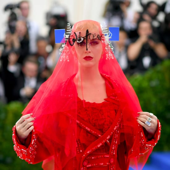 Katy Perry Makeup and Hair at the 2017 Met Gala
