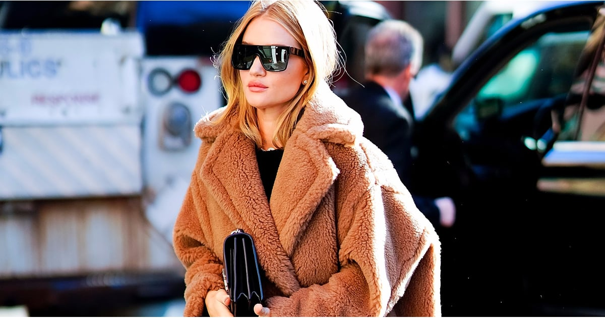 Forget Teddy Bears —We Just Want to Cuddle Rosie Huntington-Whiteley's Cozy Coat
