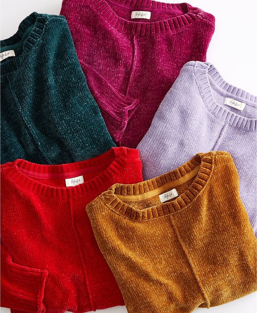 Style & Co Chenille Sweater