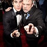 Darren Criss and Mark Hamill