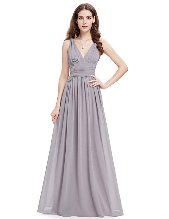 Ever-Pretty Maxi Evening Dress