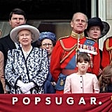 The British Royal Family Debuts at Trooping the Colour