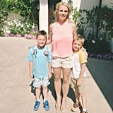 Britney Spears shared a sweet photo with her sons, Jayden and Sean. Source: Instagram user britneyspears