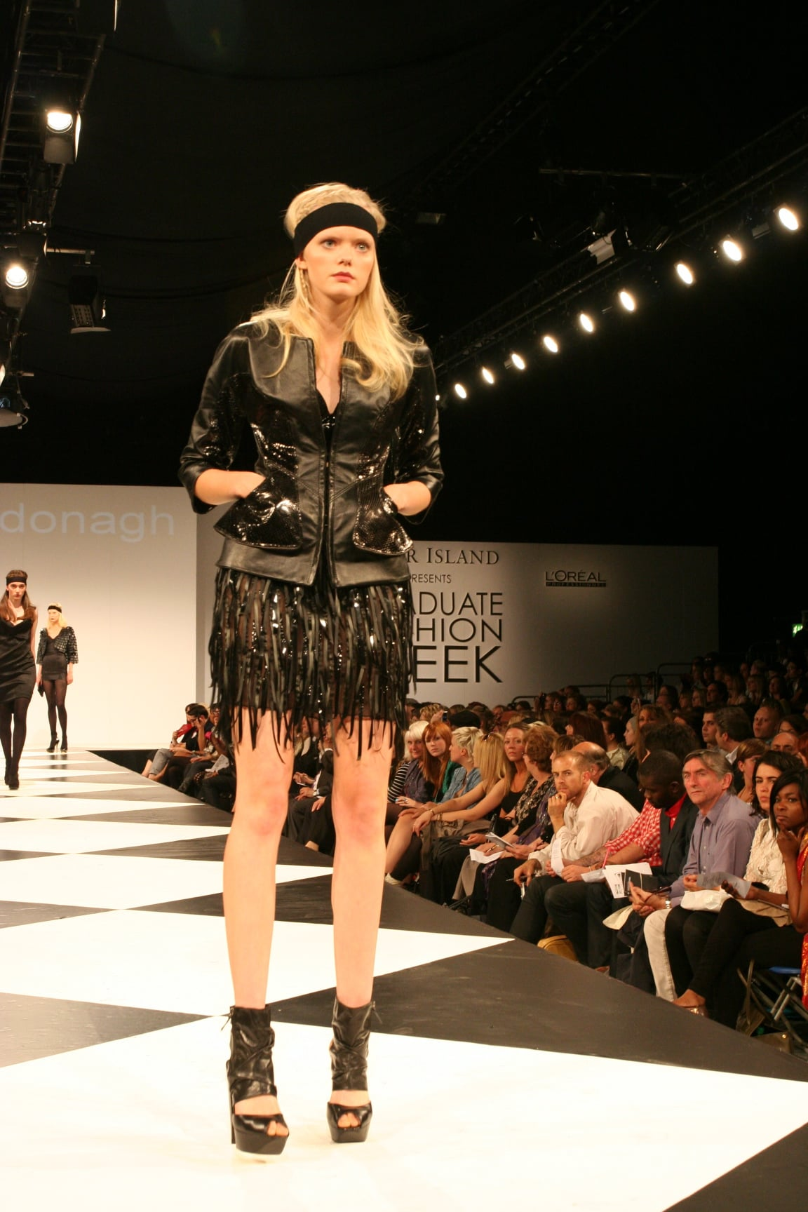 northumbria university at graduate fashion week 2009