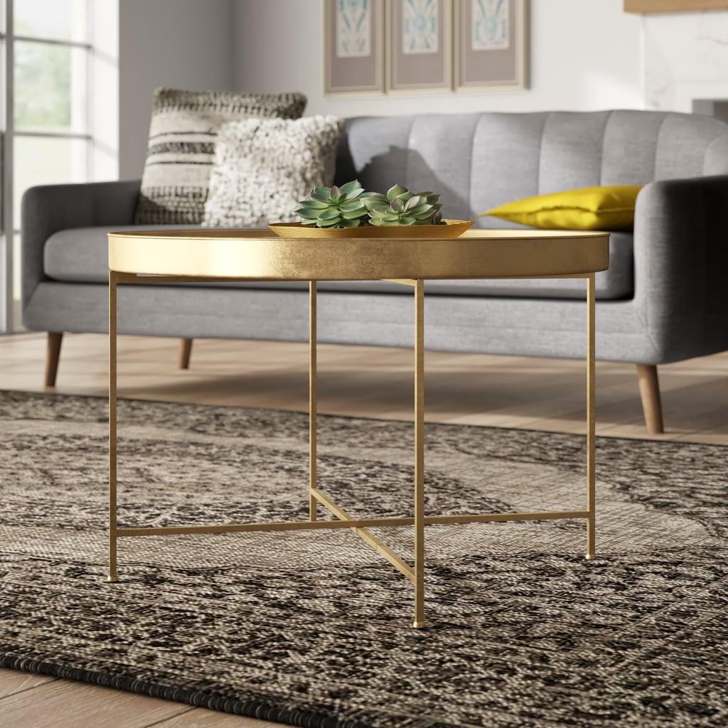 Dishman Lift Top Cross Legs Coffee Table
