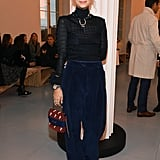 Pixie Geldof at the Chloé Paris Fashion Week Show