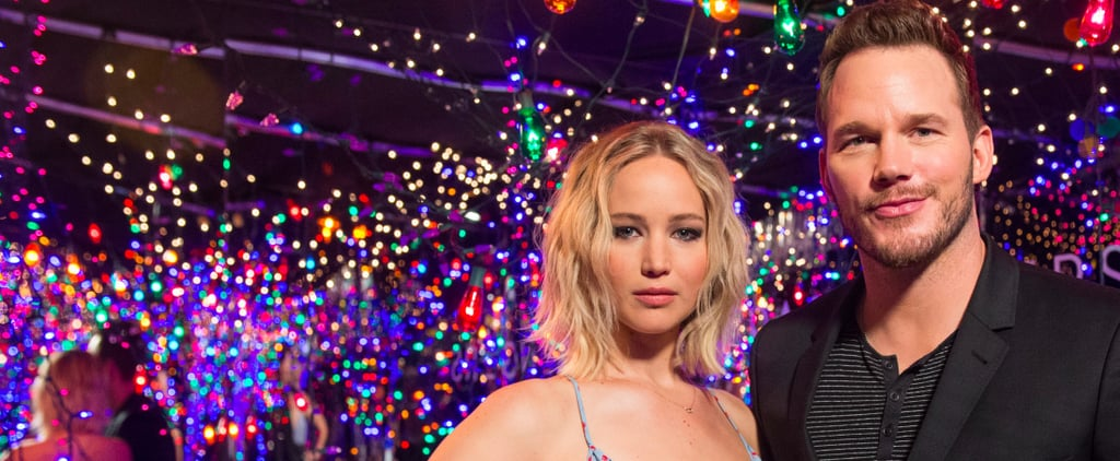 Jennifer Lawrence and Chris Pratt Teleport to Some Sort of Glamorous Stranger Things Wonderland