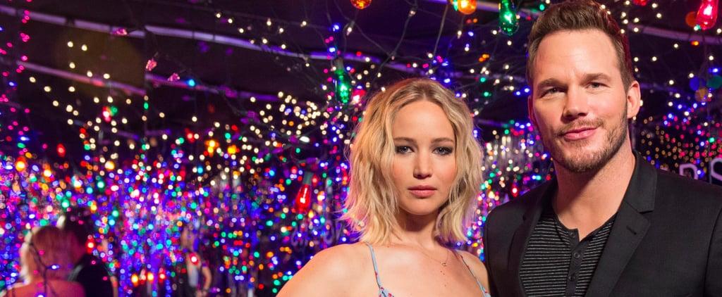 Jennifer Lawrence and Chris Pratt Teleport to Some Sort of Glamorous Stranger Things Wonderland