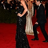 Gisele Bundchen wore Givenchy on the red carpet at the Met Gala.