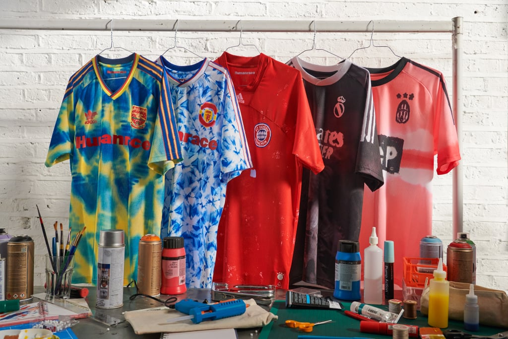 Pharrell Designed Adidas Football Jerseys For Iconic Clubs