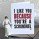 Scoundrel Letterpress Card