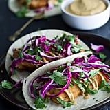 Beer-Battered Tacos With Chipotle Aioli