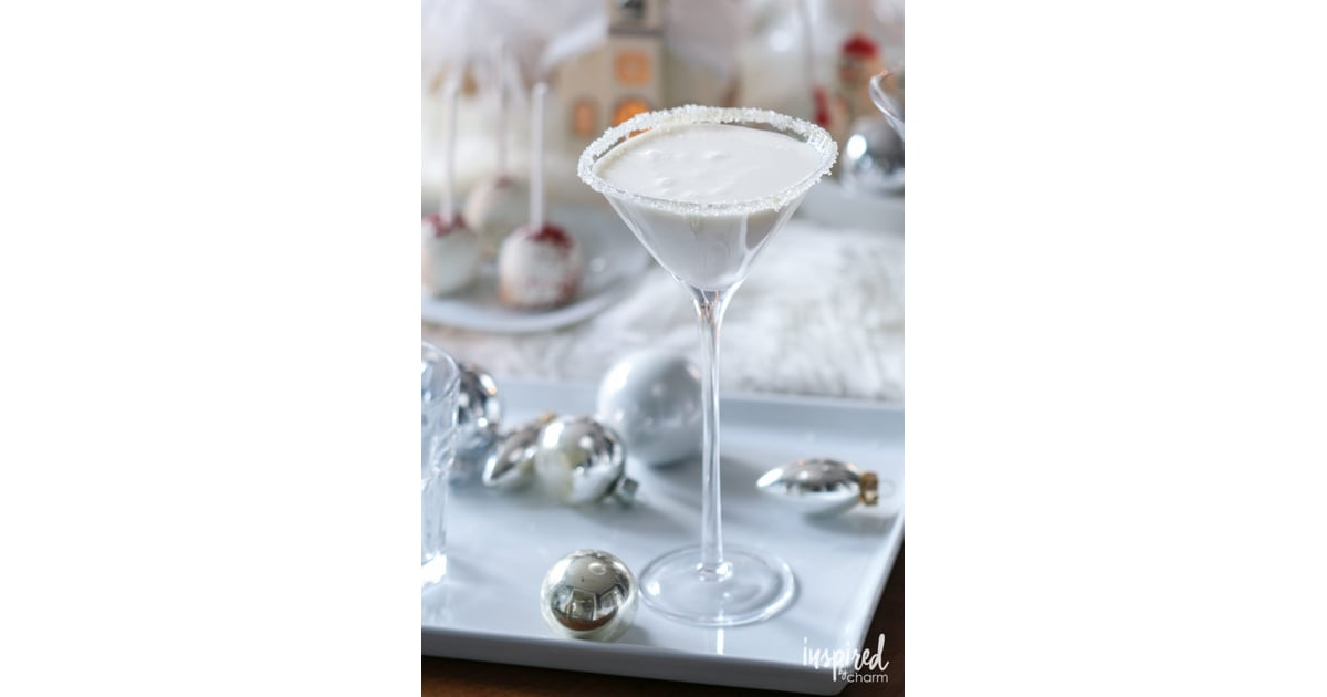 white christmas martini christmas vodka cocktails popsugar food photo 2 - White Christmas Martini Recipe