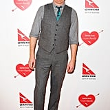 Jesse Tyler Ferguson wore sneakers to the party.
