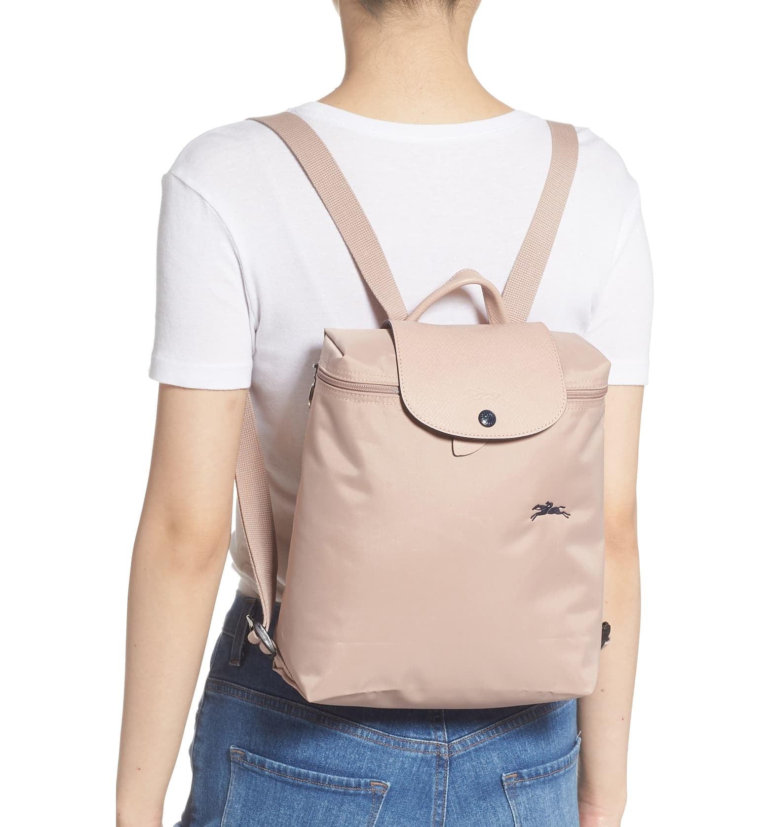 Longchamp Le Pliage Club Backpack | 12 Stylish Backpacks That'll ...