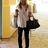 SMG Takes Care of Business With Her Bump