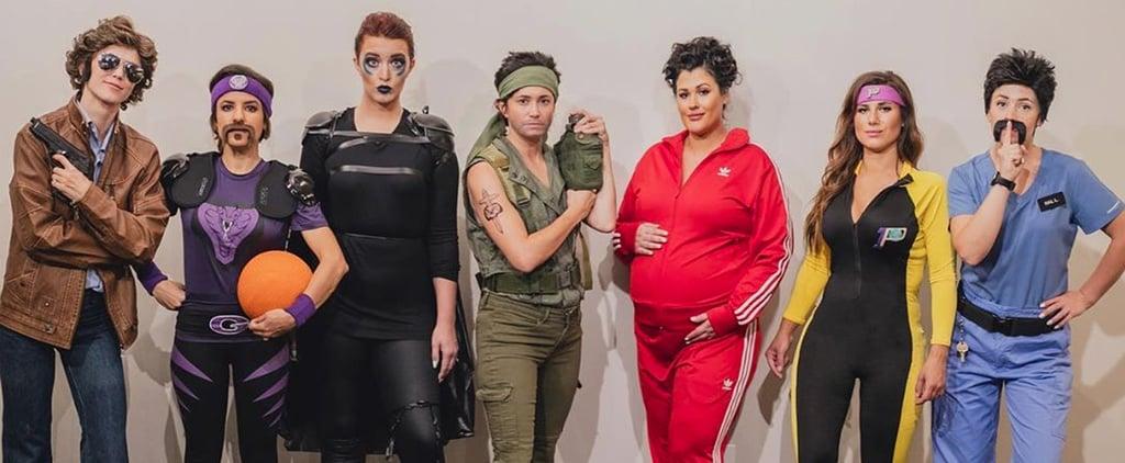 Friends Dress as Different Ben Stiller Roles For Halloween
