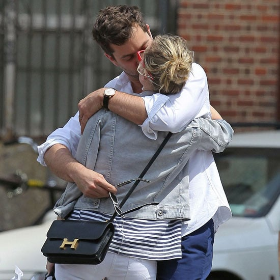 Pictures of Diane Kruger With Joshua Jackson Kissing in NYC