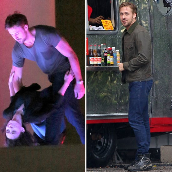 Ryan Gosling and Rooney Mara Dance on Set