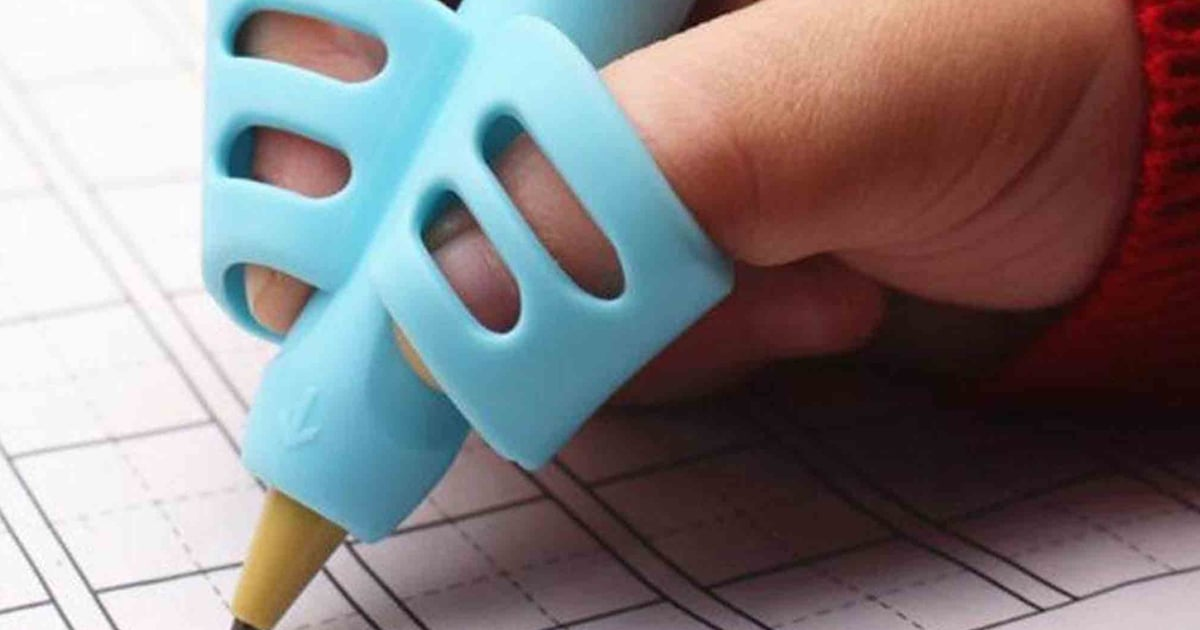 This Nifty Handwriting Tool Will Teach Your Kid How to Hold a Pencil Correctly Once and For All.jpg