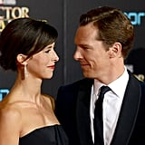 Benedict Cumberbatch Sophie Hunter on Red Carpet Oct. 2016