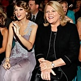 Taylor brought her mom to the Academy of Country Music Awards back in April 2010.