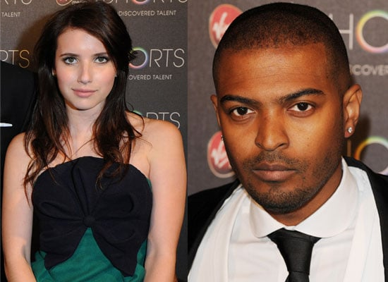 """Photos Of Emma Roberts and Noel Clarke At The Virgin Media Shorts Event Where Luke Snellin Won For His Short Film """"Mixtape"""""""