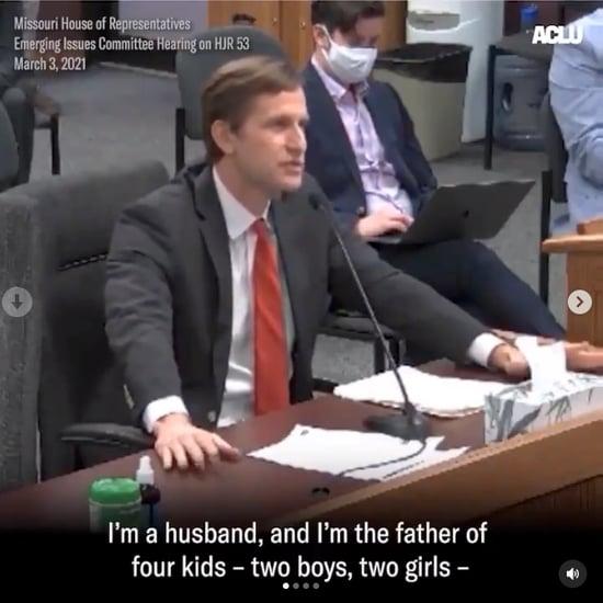Transgender Girl's Dad Gives School Sports Bill Testimony