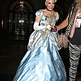 Gwen Stefani channeled Cinderella at an LA bash in 2011.