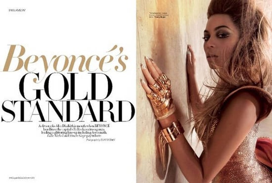 Beyonce does Harper's Bazaar Arabia-october 09