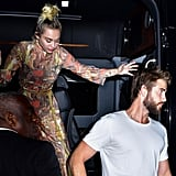 Miley Cyrus and Liam Hemsworth at Screening in NYC 2016