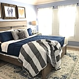 Nautical Navy Beddy's Set